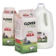 Clover Stornetta Farms Organic Whole Milk