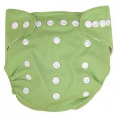 Green Cloth Diaper