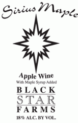 Sirius Maple Dessert Wine