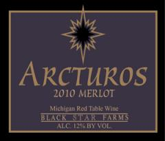 2010 Arcturos Merlot Wine