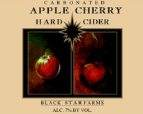 Hard Apple Cherry Cider