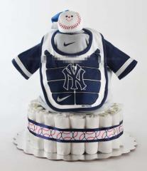NY Yankee Cake - Boy Diaper