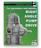 Small Right Angle Pump Drives