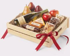 Toast the Traditions Wine Gift Basket