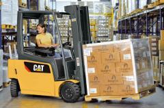Electric Counterbalanced 3,000-4,000 lb Capacity
