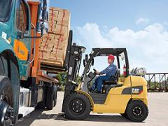 Internal Combustion Pneumatic Tire 8,000-12,000 lb Capacity Forklift