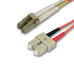 LC/SC 62.5 OM1 Multimode Fiber Patch Cables