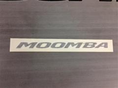 Moomba black md boat sticker