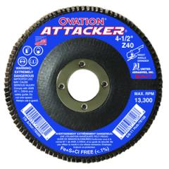 High Density Flap Discs, Flat Shape, Fiberglass Backing, Diameter - 7
