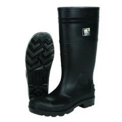 PVC Knee Boots, 16 Inch - Steel Toe, Size - 13