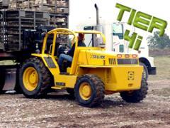 Sellick Poultry Coop Handlers Forklift