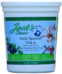 Jack's Classic Blueberry Fertilizer