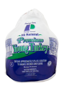 Prestage A Grade Frozen Turkey