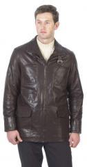 Men's Lambskin Cargo Coat