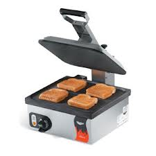 Vollrath Cayenne® Cast Iron Single Panini Style Sandwich Press