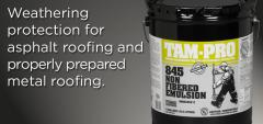 TAM-PRO® 845 Non-Fibered Emulsion Coating