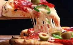 Pizza and Italian food items