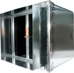 Ductboard Plenum Register Box 58DD