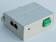 DC - DC Converter + 802.3af PoE Injector 9 - 36 VDC In and 48 VDC PoE Out (Din Rail Mount)