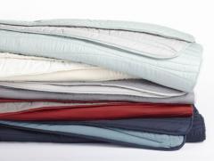 Reversible Wave Quilt - Organic Cotton