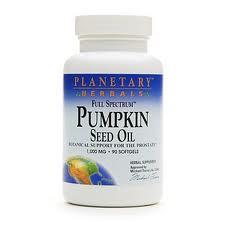 PlanetaryHerbals PumpkinSeed Oil 1000mg 90gel