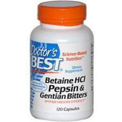Dr.Best Betaine HCLPep & Gen Bitters