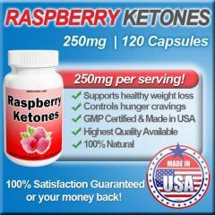 Raspberry Ketones, 250mg, Highest Quality, Natural