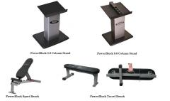 PowerBlock Dumbbell Stands and Benches