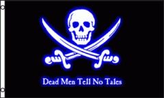 Pirate Dead Men Tell No Tales Flag