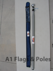 Deluxe Heavy Duty Telescopic Fiberglass Flagpole