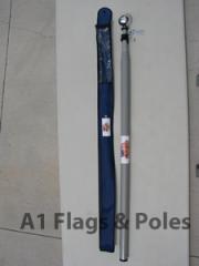 Deluxe Heavy Duty Telescopic Fiberglass Flagpole