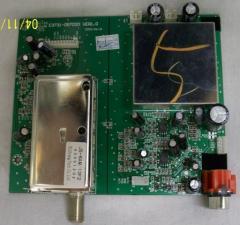 Akai 771LL27AD02-01 Tuner Board