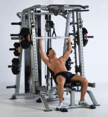 Tuff Stuff Smith Machine (Loaded) Free Weight