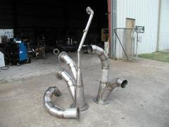 Stainless ductwork welding