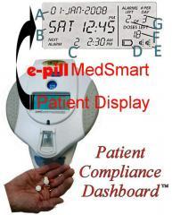 MedSmart Locked Automatic Medication Dispenser