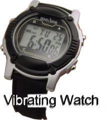 MeDose Six Alarm Vibrating Wrist Watch