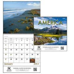 CAL109 Landscapes of America Spiral Calendar