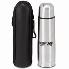 W141 Stainless Steel Thermos with Case