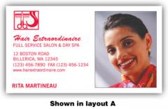Full Color Business Cards with Framed Image