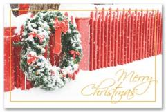 Holiday Posts Postcard