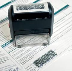 Privacy Stamp - Self-Inking