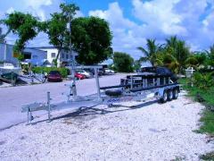 32' Catamaran Tri Axle Trailer
