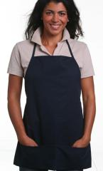 Med Apron With Pouch Twill Fabric 65/35