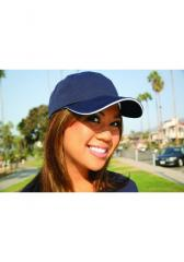 UNSTRUCTURED BRUSH TWILL CAP WITH