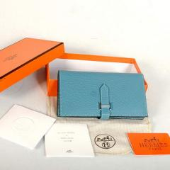 Bearn Japonaise Original Blue Leather Wallet