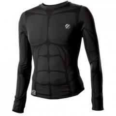 UFC Aim Long Sleeve Compression Top - Black
