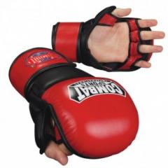 Combat Sports Mma Safety Sparring Gloves - Red