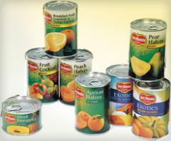 Canned Fruits & Vegetables