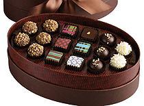 Signature Chocolate Oval Box-Price includes