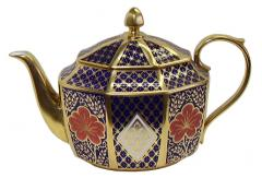 Caverswall's Romany pattern Teapot
